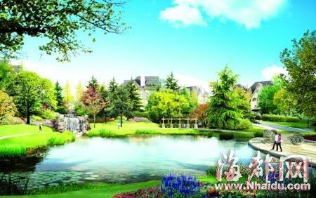 日本庭院设计手绘图