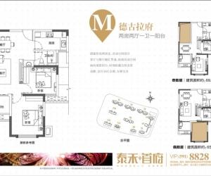 M 两房两厅一卫