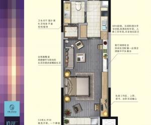 46平米 逍邦公寓