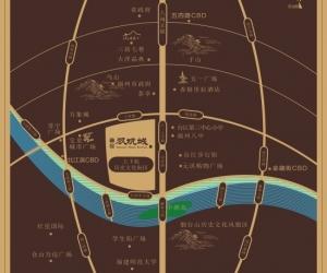 融信双杭城区位图