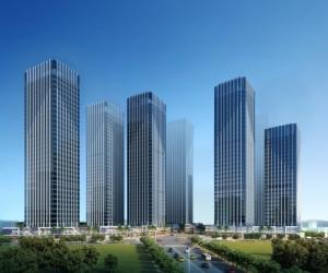 融信双杭城太平汀洲地块SOHO和商铺效果图(日景)